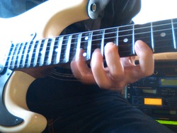 Playing the stratocaster